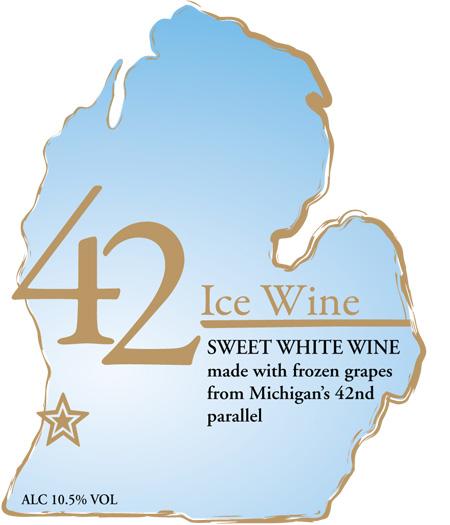Ice Wine Fenn Valley Store - Michigan wineries map